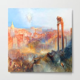 William Turner Modern Rome Metal Print