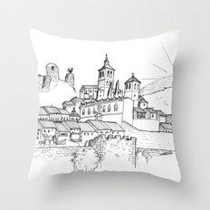 Cogolludo Sunrise (line) Throw Pillow