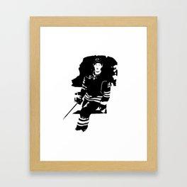 Jack Eichel - the Buffalo Saviour Framed Art Print