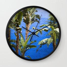 Pop Art Tropicals Wall Clock
