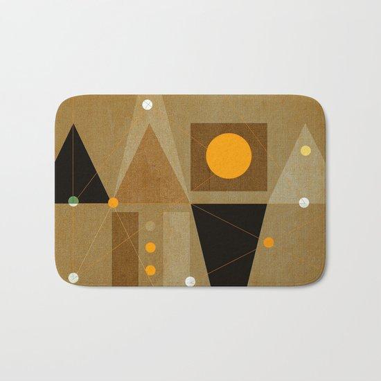 Geometric/Abstract 15 Bath Mat