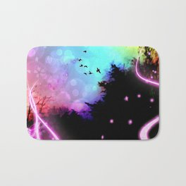 Magic in the Air Bath Mat