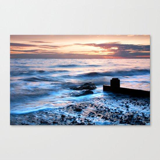 A gentle tide Canvas Print