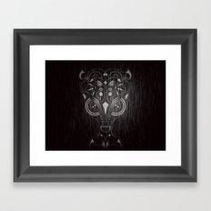 Bambi on acid Framed Art Print