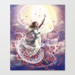 Crown of Compassion Canvas Print
