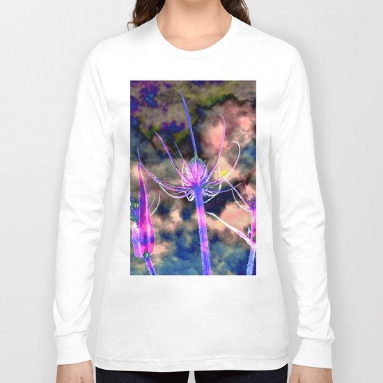 Floral Cloud Drama Long Sleeve T-shirt