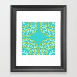 Caribbean Surf and Sun Framed Art Print
