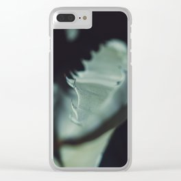 Aloe thorns Clear iPhone Case