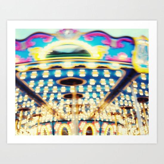 Bokeh Candy Art Print