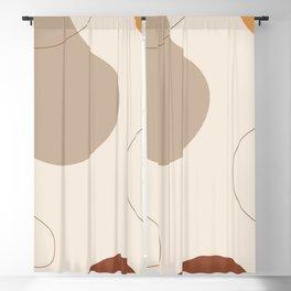 Threads of destiny - Modern abstract art Blackout Curtain