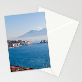 View of Naples Bay, Italy Stationery Cards