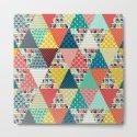 llama geo triangles by sharonturner