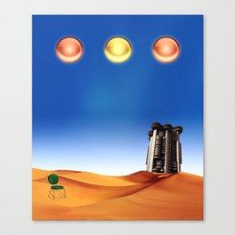 La España de J.Cuerda Canvas Print