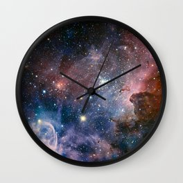 The Carina Nebula Wall Clock