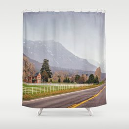Road to the San Juan Mountains Shower Curtain