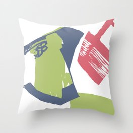 Tin Cans Throw Pillow