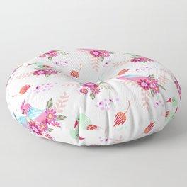 beautiful birds Floor Pillow