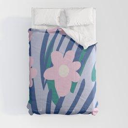 Flower Market Amsterdam Comforters