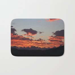 Aegean Sunset Bath Mat