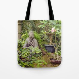 Japanese style Decoration at Guayaquil Botanical Garden Tote Bag