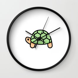 Just a Cute Turtle Wall Clock