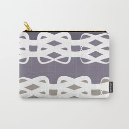 Lavender Knots Carry-All Pouch