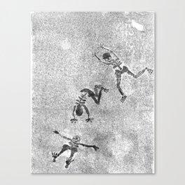 Midnight Shadow Dancers Canvas Print