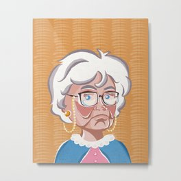Golden Girls - Sophia Petrillo Metal Print