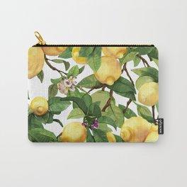 Watercolor lemon Carry-All Pouch