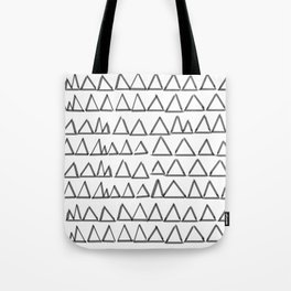 Triangels_black Tote Bag