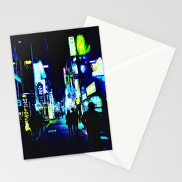 Busan Nights Stationery Cards