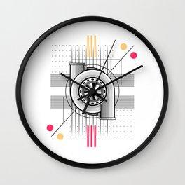 Turbo engine Wall Clock