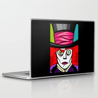 mad hatter Laptop & iPad Skins featuring Mad Hatter by Artistic Dyslexia