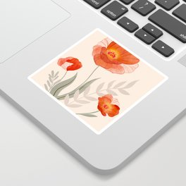 Summer Flowers II Sticker