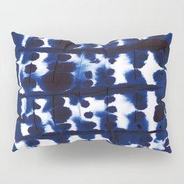 Parallel Indigo Pillow Sham