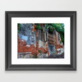 Old Colonial Building Framed Art Print