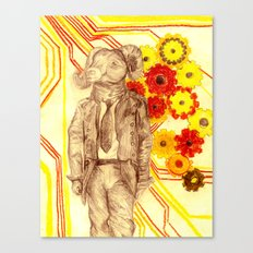 Steampunk Ram Canvas Print