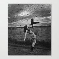 divergent Canvas Prints featuring Divergent by Stephanie Massaro