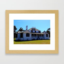 Kingsley Plantation House Framed Art Print