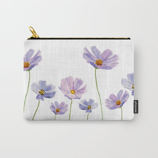 purple cosmos 2 Carry-All Pouch