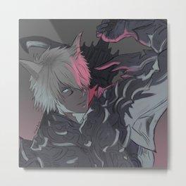FFXIV Art Metal Print