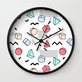 Explosion Menphis Wall Clock