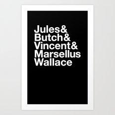 The Stuff of Fiction Art Print
