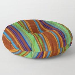 Primitive Grunge Stripe Floor Pillow
