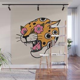 Cheetah Wall Mural