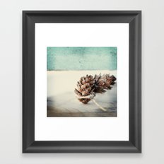 winter moods Framed Art Print