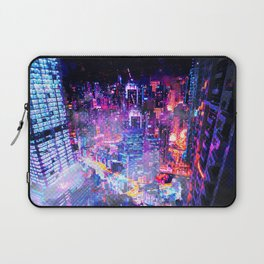 Cyberpunk City Laptop Sleeve
