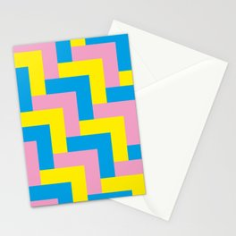 An easy one. Arrow heads...Graphical arrow heads in children colors. Stationery Cards