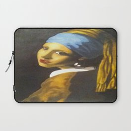 Girl with the Pearl Earring Original Laptop Sleeve