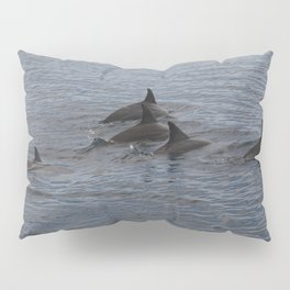 dolphins in the ocean Pillow Sham